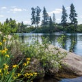 Boulder Beach.- Spokane River, Boulder Beach