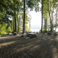 Campsites at Bear Creek Recreation Site Campground.- Bear Creek Recreation Site Campground
