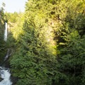 Slollicum Creek Falls.- Slollicum Creek Falls