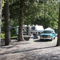 Tamihi Creek East Recreation Site Campground.- Tamihi Creek East Recreation Site Campground