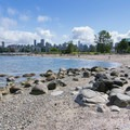View toward downtown Vancouver.- Hadden Park