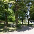 Entrance to the park.- Jericho Park