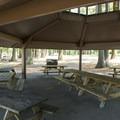 Picnic Shelter at Cultus Lake Park and Main Beach.- Cultus Lake Park + Main Beach