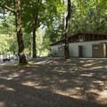 Restroom facilities at Cultus Lake Park and Main Beach.- Cultus Lake Park + Main Beach
