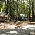 Large RV sites at Sunnyside Campground.- Sunnyside Campground