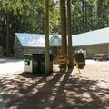 General store and recreational building at Sunnyside Campground.- Sunnyside Campground
