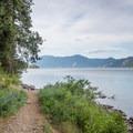 Lake Pend Oreille from the Beaver Bay Shoreline Trail Loop.- Beaver Bay Beach