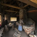 Blacksmith at Fort Langley.- Fort Langley National Historic Site