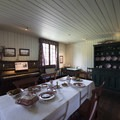 Inside the Big House at Fort Langley, home of the fort's managers.- Fort Langley National Historic Site