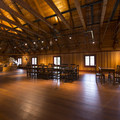 Event space at the top of the Big House at Fort Langley.- Fort Langley National Historic Site
