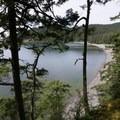 Looking over Bowman Bay from Bowman Bay Trail.- Bowman Bay