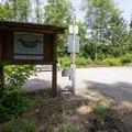 Parking area.- Kukutali Preserve (Kiket Island)