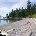 The southern beach.- Rosario Beach, Deception Pass State Park