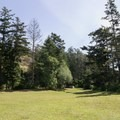 Fields and picnic areas.- Rosario Beach, Deception Pass State Park