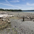 Low tide at Similk Beach.- Similk Beach