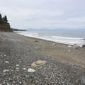 View south toward the Olympic Peninsula.- West Beach County Park