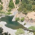 The campground is a short walk away from the South Fork of the Eel River.- Rock Creek Campground