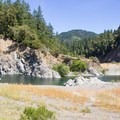 Nearby swimming holes.- Rock Creek Campground