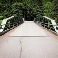 Church Street crosses the Snyder Bridge.- Snyder Bridge Swimming Hole, Idanha