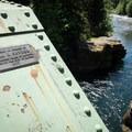 The Snyder Bridge, Idanha.- Snyder Bridge Swimming Hole, Idanha