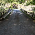 The bridge to Highway 20.- Fernview Group Campground