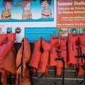 Lifejackets are available for loan.- Baker Bay Park, Dorena Reservoir