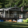 Concessions and rentals are available.- Baker Bay Park, Dorena Reservoir