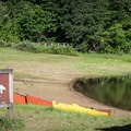 The swimming area at Baker Bay is good for families with beginning swimmers.- Baker Bay Park, Dorena Reservoir