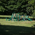 The playground at Baker Bay.- Baker Bay Park, Dorena Reservoir