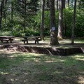 Group site at Baker Bay Campground.- Baker Bay Campground, Dorena Reservoir