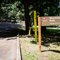 The entrance to Shortridge Park on Cottage Grove Lake.- Shortridge Park, Cottage Grove Lake