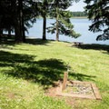 Potable water is available.- Shortridge Park, Cottage Grove Lake
