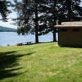 Lakeside Park on Cottage Grove Lake.- Lakeside Park, Cottage Grove Lake