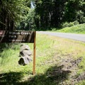 The entrance to Wilson Creek Park on Cottage Grove Lake.- Wilson Creek Park, Cottage Grove Lake