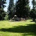 The playground at Wilson Creek Park.- Wilson Creek Park, Cottage Grove Lake