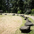 The Riverside Park Day Use Area is located just downstream from the dam.- Riverside Park, Cottage Grove Lake