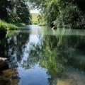 The Coast Fork Willamette River from Riverside Park.- Riverside Park, Cottage Grove Lake