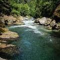 Salmon Creek.- Salmon Creek Falls Swimming Holes