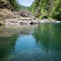 North Fork Middle Fork Willamette.- North Fork Middle Fork Willamette Swimming Hole 3.5