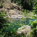 North Fork Middle Fork Willamette River.- North Fork Middle Fork Willamette Swimming Hole 3.5