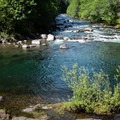 The upper pool, North Fork Middle Fork Willamette River.- North Fork Middle Fork Willamette Swimming Hole 11
