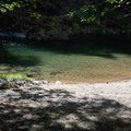 The lower pool at this site is smaller.- North Fork Middle Fork Willamette Swimming Hole 11