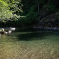 The beautiful North Fork Middle Fork Willamette River.- North Fork Middle Fork Willamette Swimming Hole 11