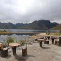 Picnic area at Mojanda Lake.- Lagunas de Mojanda