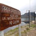 Mojanda Lake - a protected area since 2002.- Lagunas de Mojanda