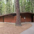 Restrooms in Whitetail Campground.- Whitetail Campground