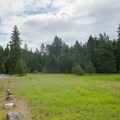 The tent section of Whitetail Campground.- Whitetail Campground