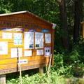 Trailhead. - Icicle Ridge via Fourth of July Creek Trail