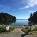 Smallpox Bay vessel launch.- San Juan County Day Park + Campground