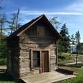 Historic Brann Cabin.- San Juan County Day Park + Campground